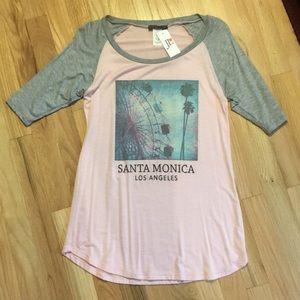 Joyce Leslie half sleeve shirt. Never once worn.